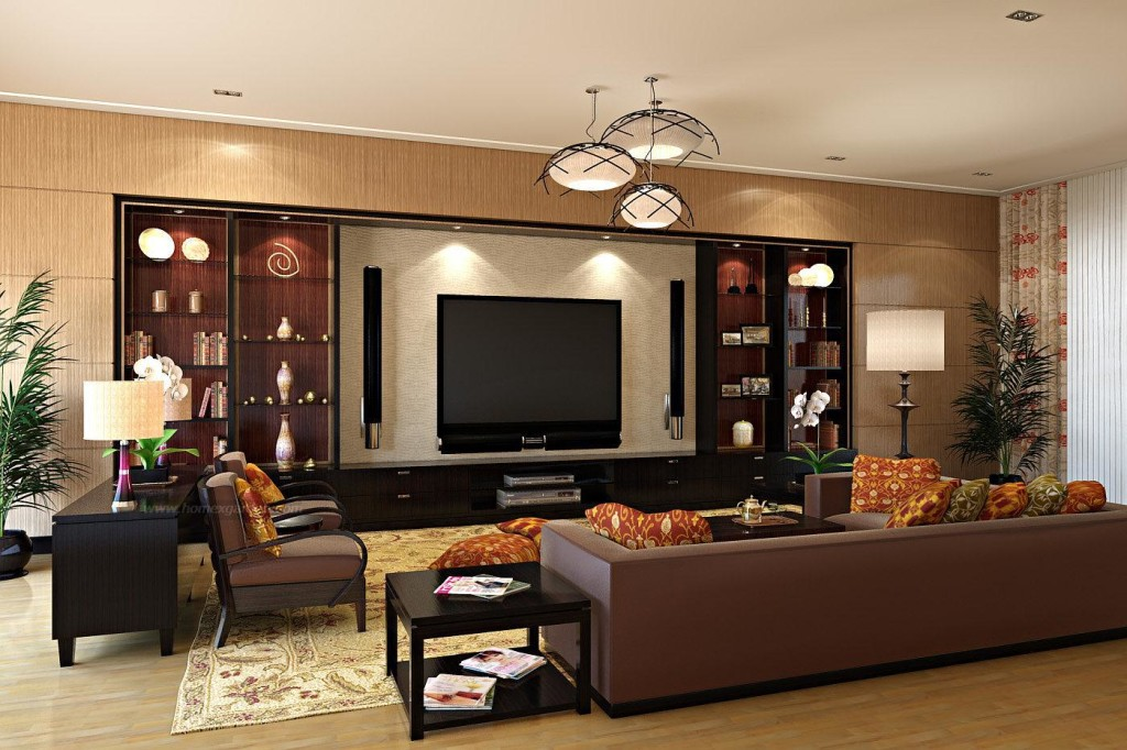 Beautiful Wall Unit And Lcd Cabinet Design Ipc218 Tv