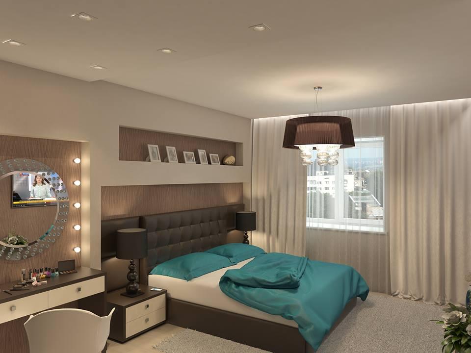 Brown Cream Bedroom Ipc129 - Unique Bedroom Designs - Al Habib Panel ...