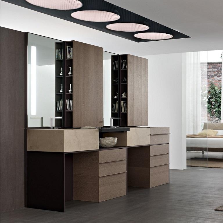 Modern Vanity Unit Design 2 Ipc296 - Modern Italian Bathroom