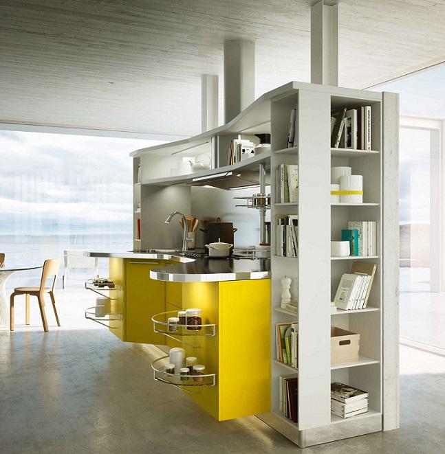 Best Italian Kitchen Design: Stainless Steel Counter Top Design Ipc436