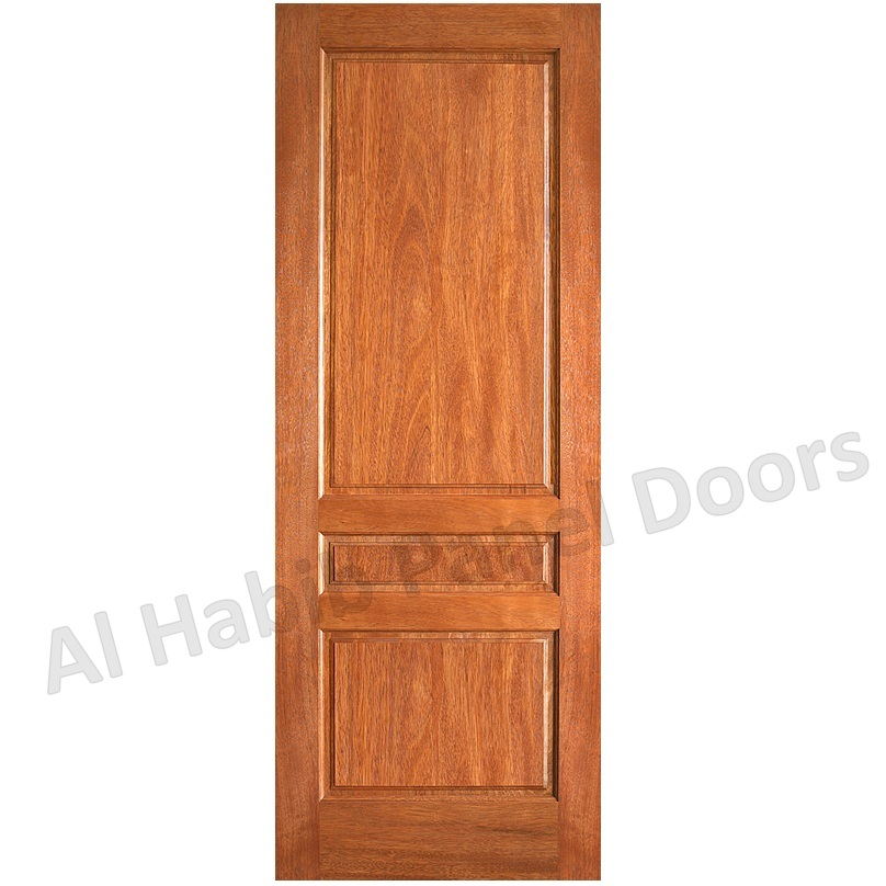 3 Panel Solid Wood Door Hpd101 Solid Wood Doors Al