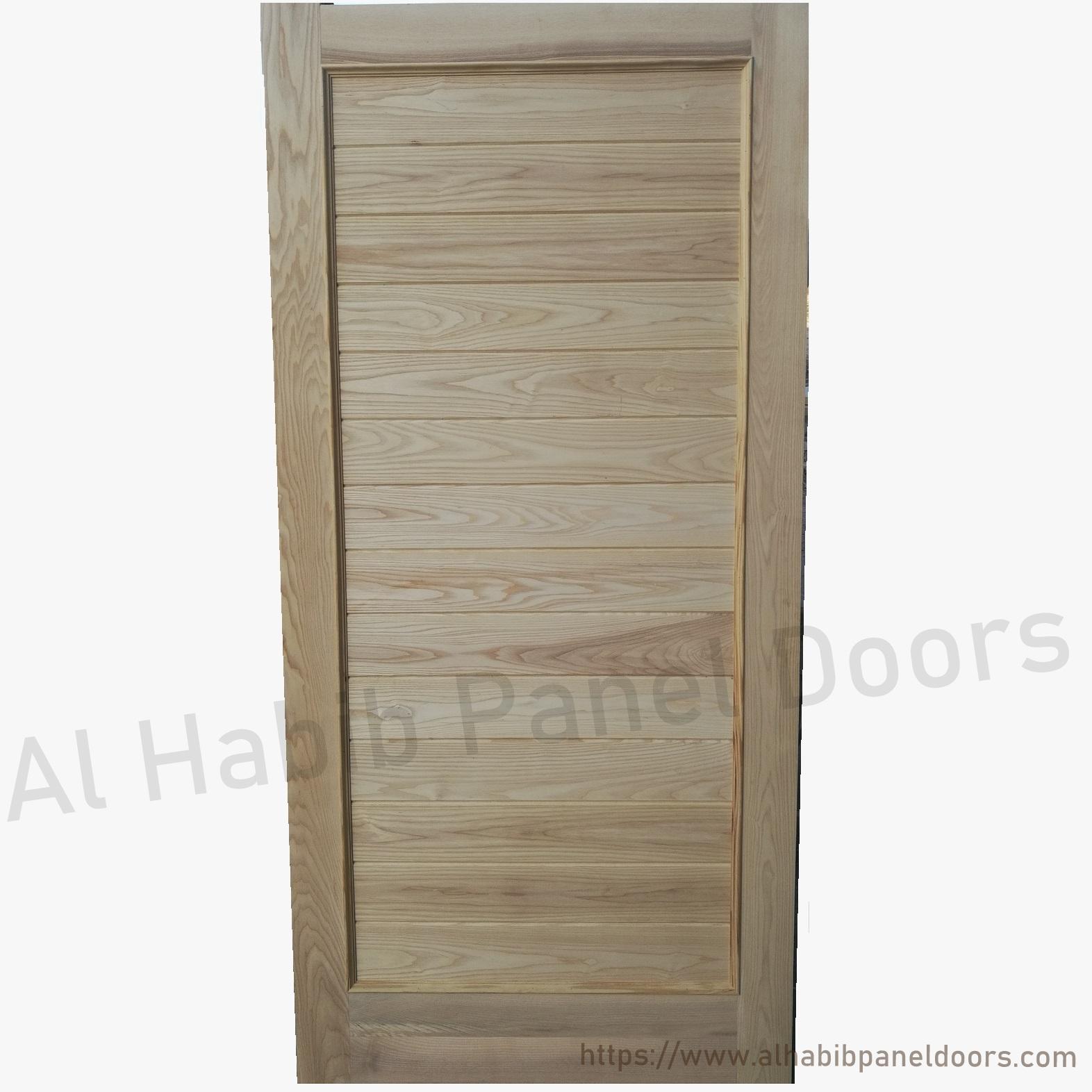 Ash Wood Door Design Hpd Solid Wood Doors Al Habib Panel Doors - Wooden door designs for bedroom