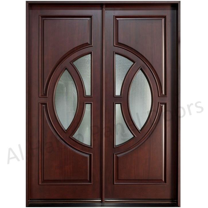 Living Room Wooden Door Design