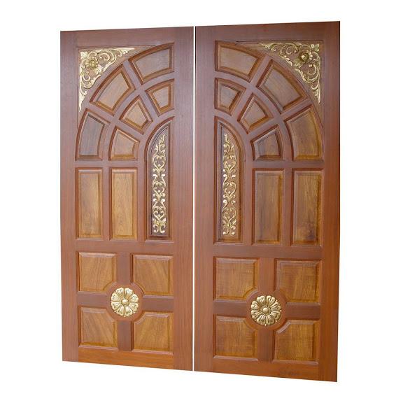 Diyar Solid Wood Double Door Hpd411 - Main Doors - Al Habib Panel ...