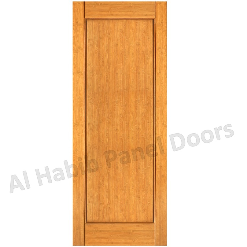 Solid Single Panel Door Hpd485 Solid Wood Doors Al