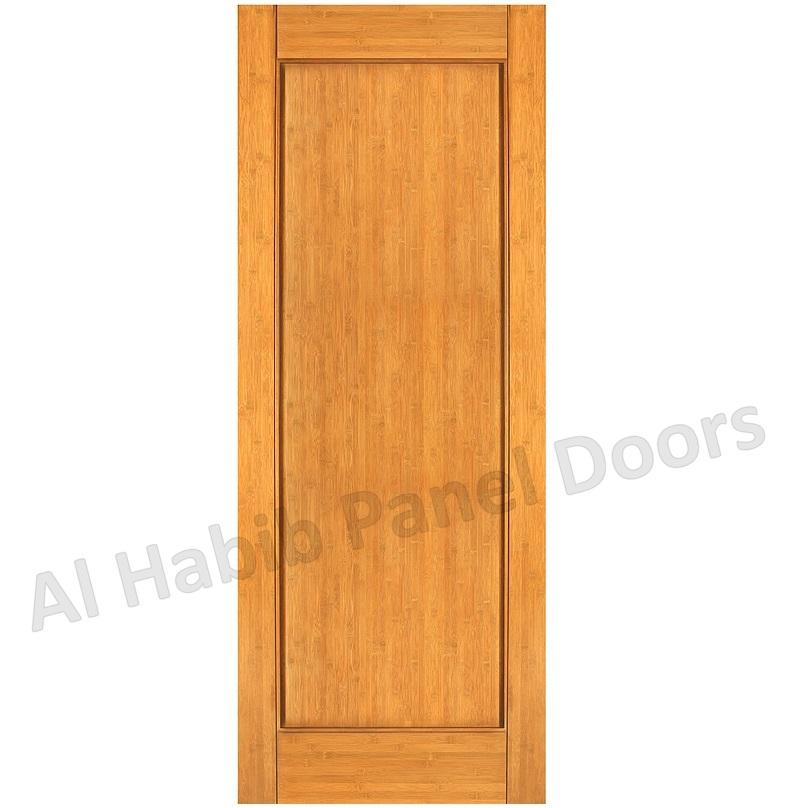 Single Wood Panel ~ Solid single panel door hpd wood doors al