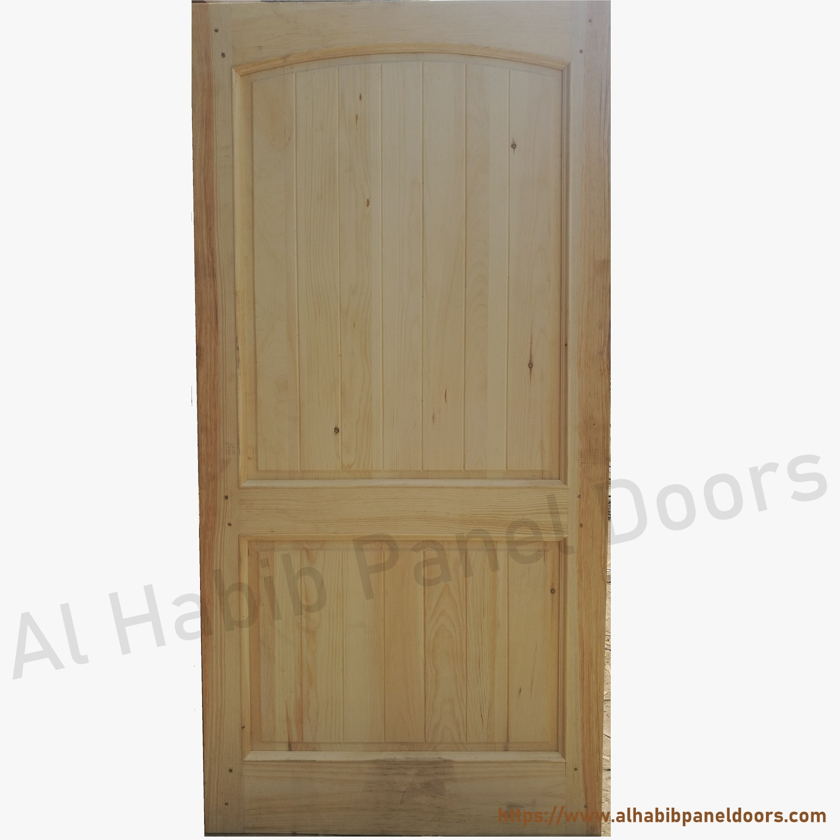 Solid wood door solid wood doors al habib panel doors for Plain main door designs