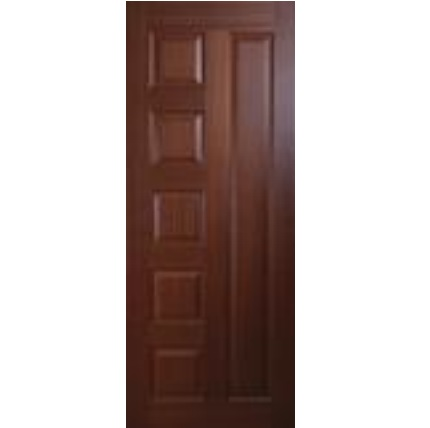 Panel Doors Design wooden panel doors affordable interior solid core wood panel Teak Skin 6 Panel Door