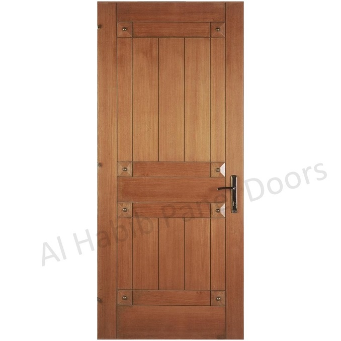 Two panel ply pasting door hpd495 ply pasting doors al for Door design in pakistan