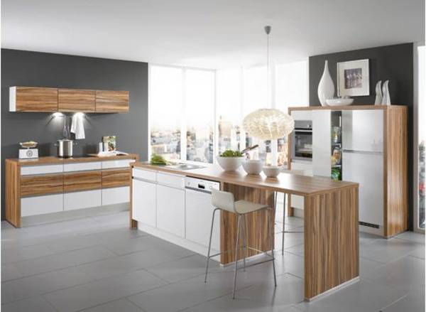Accent High Gloss Furniture Kitchen Design