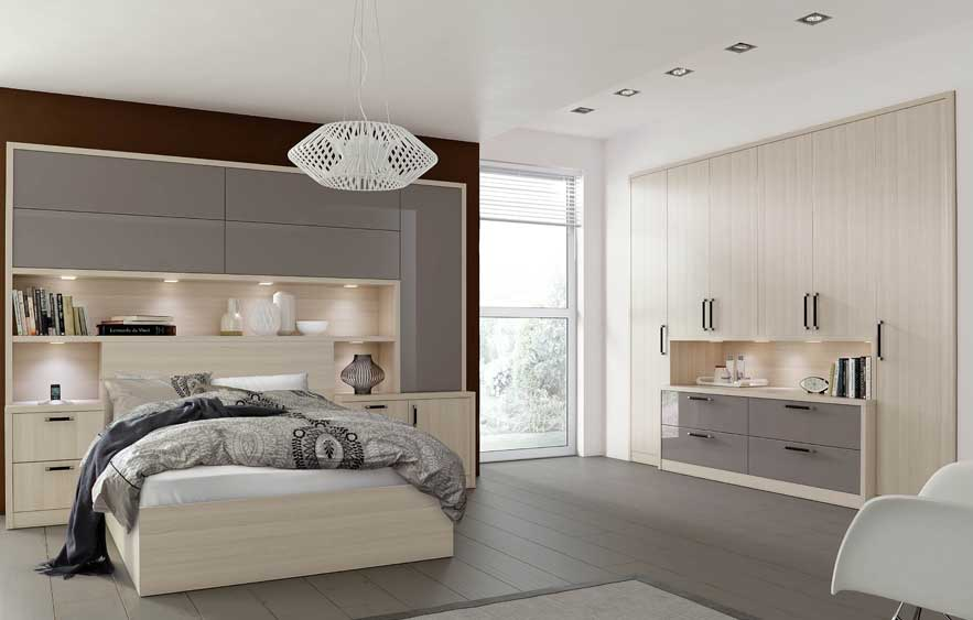 Fitted and free standing wardrobes design for bedroom for Bedroom ideas with built in wardrobes