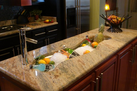 Creative Kitchen Sink Design