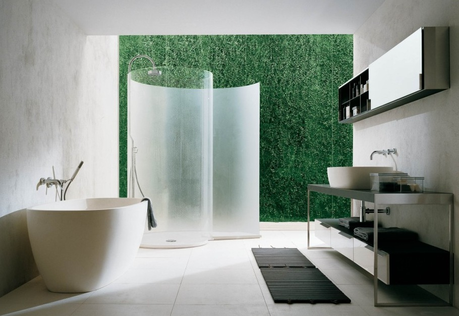 Curved Shower Screen Design