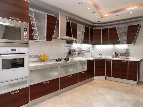 Custom High Gloss Kitchen Cabinet