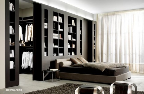 Dividing Wall Storage Unit Design