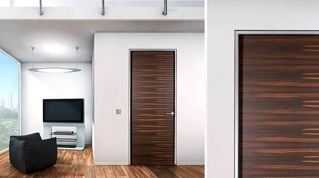 Modern Door Design For Bedroom Ipc344 - Hotels Apartments Interior ...