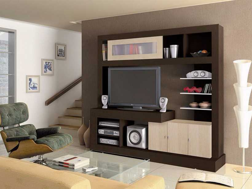 Tv Stand Designs On Wall : High quality tv stand interior design ipc modern lcd