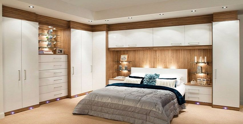 Merveilleux Fitted Bedroom With Fitted Wardrobe Design
