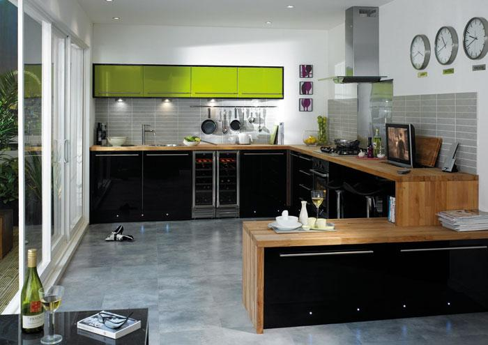 High Gloss Kitchens Scotland