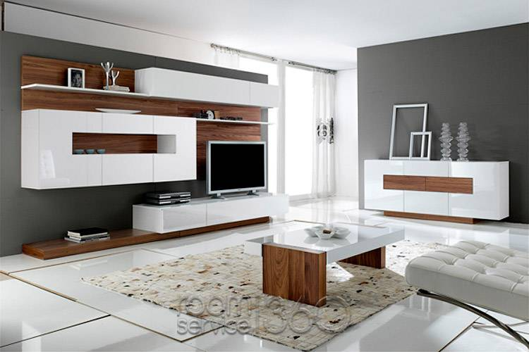 Wall Unit Modern modern lcd wall unit desiign - furniture designs - al habib panel