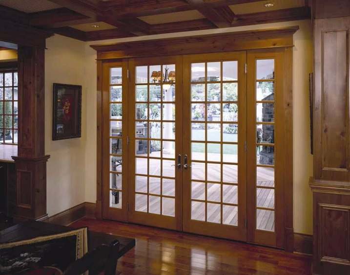Interior Wooden French Door