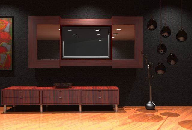 Lcd tv cabinet designs furniture designs al habib Tv panel furniture design