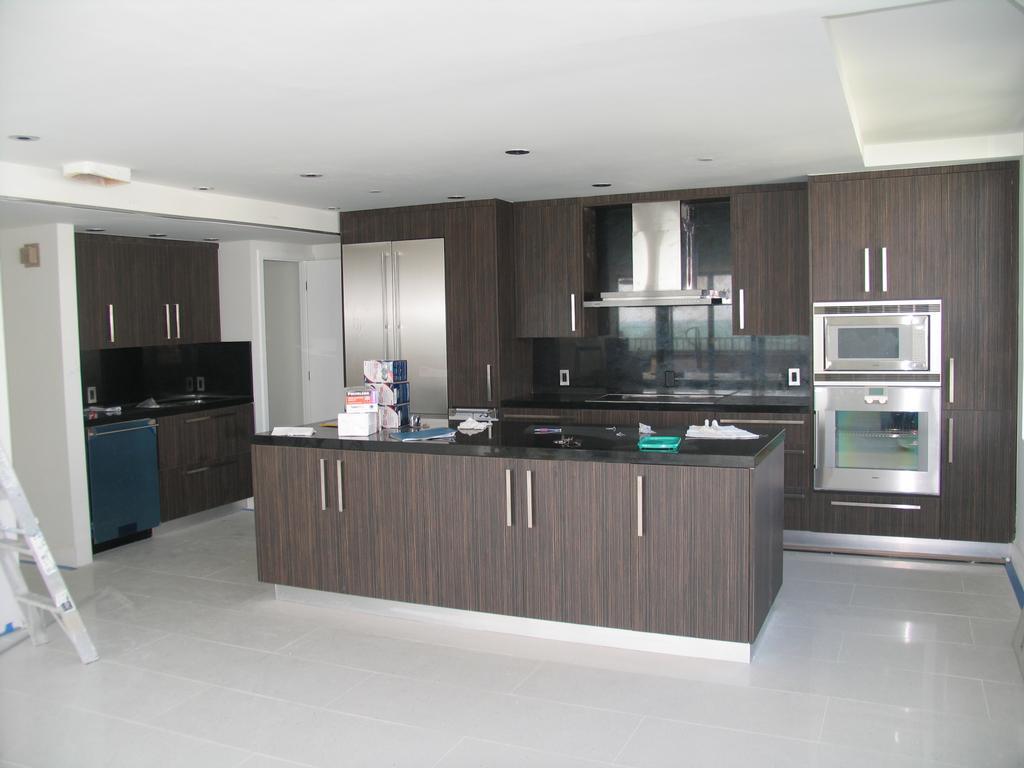 Modern kitchen styles - Leon Cabinet In Miami