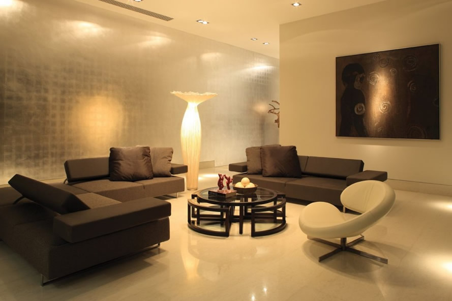 Brown living room ideas ipc132 unique living room for Unique living room designs