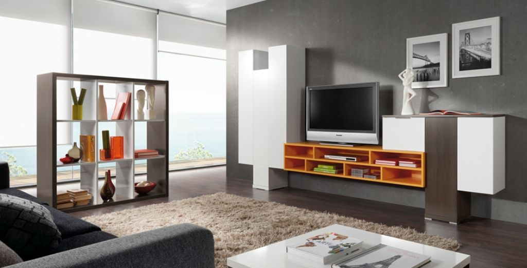 Gentil Living Room LCD TV Cabinet Design