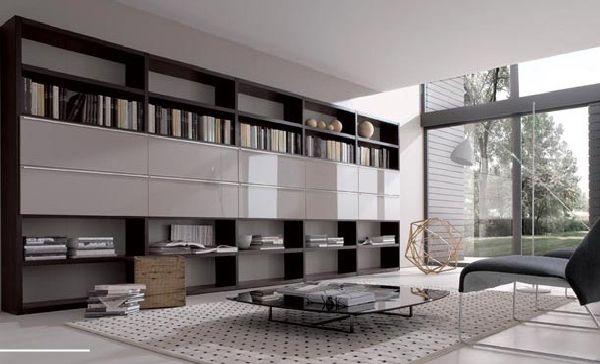 wall storage shelves designs - furniture designs - al habib panel