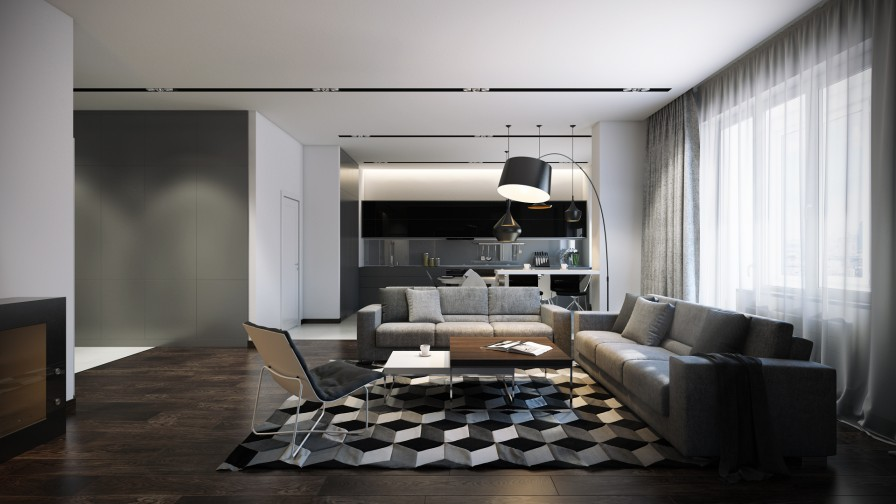 Three striking modern home designs other interiors al habib panel doors - Interieur designer lounge ...