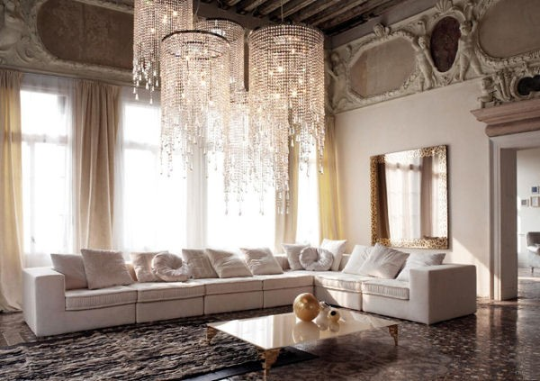 Luxurious living room designs living room designs al for Luxury living room design