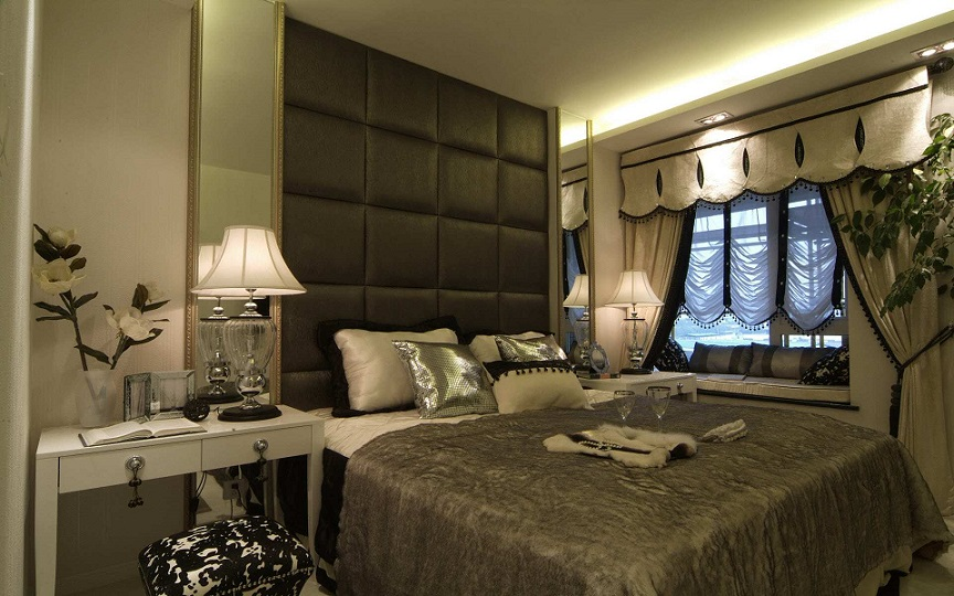 Bedrooms Designs. Luxury Bedroom Interior Design  With Modern Style Ipc166