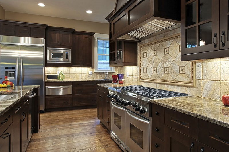 Luxury Brown Kitchen Design