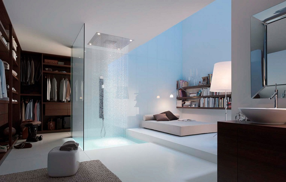Master Bedroom Attached Shower Design Ipc Beautiful Shower - Bedroom attached bathroom design