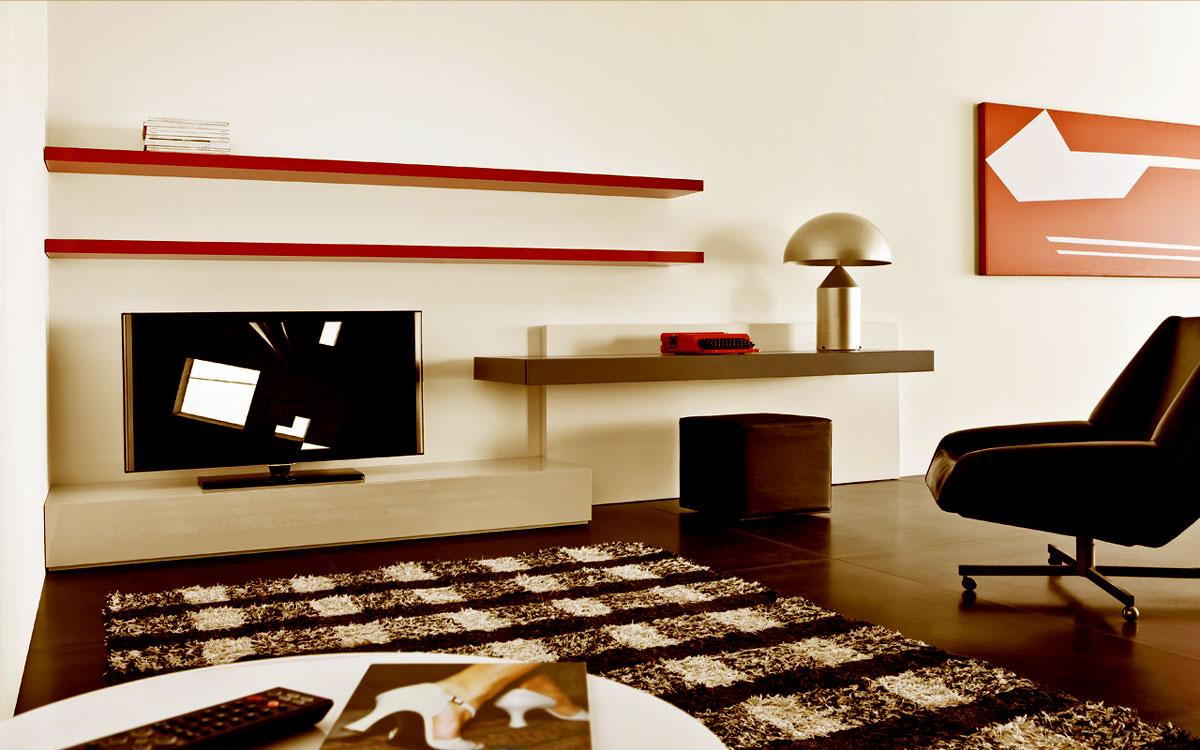 Lcd tv cabinet designs furniture designs al habib for Study room wall cabinets