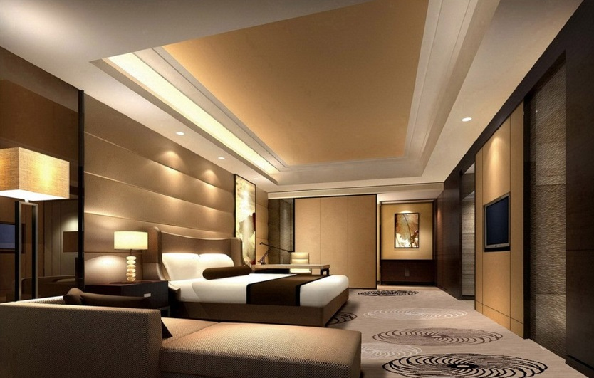 Modern master bedroom designs bedroom designs al habib for Bed room interior wall design