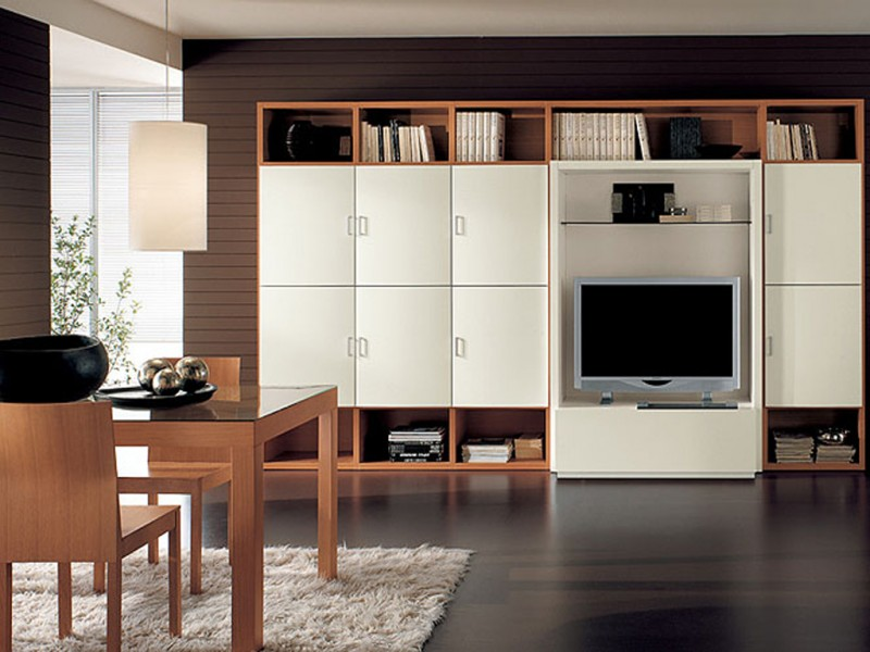 Big Storage Unit With Tv Ipc197 Wall Storage Cabinets