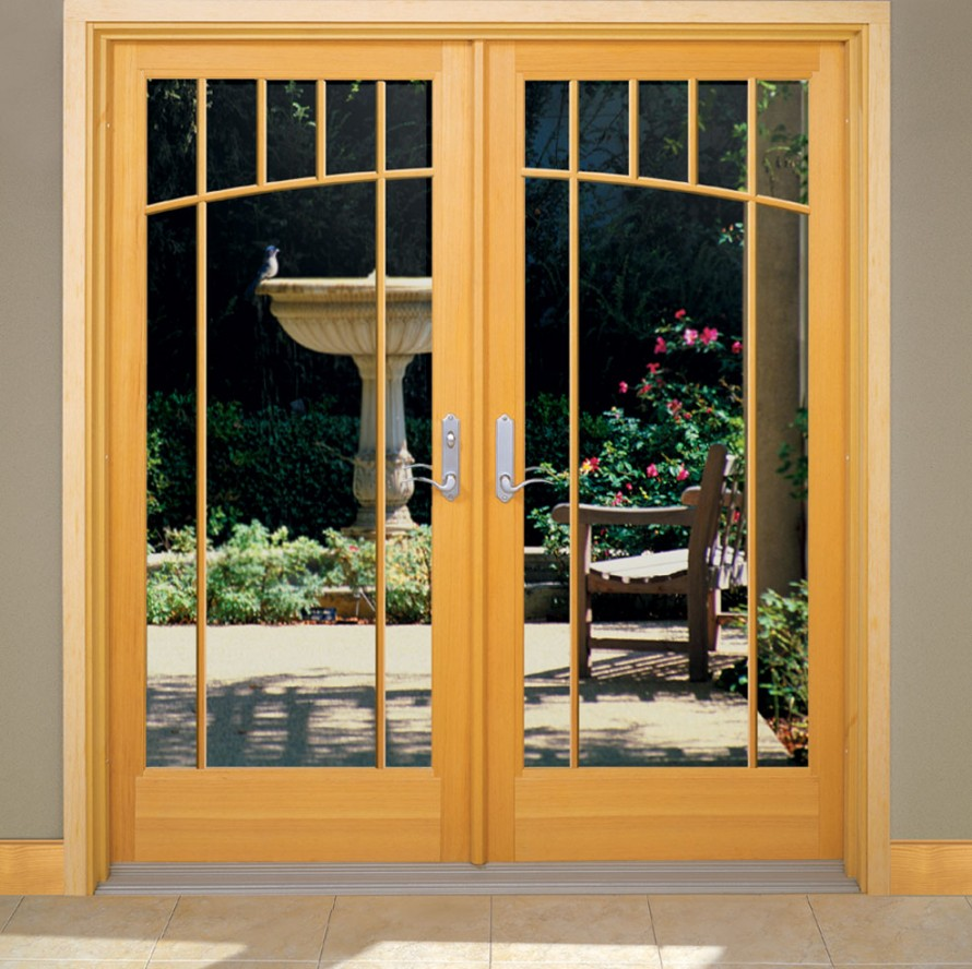 Modern French Door Glass Insert