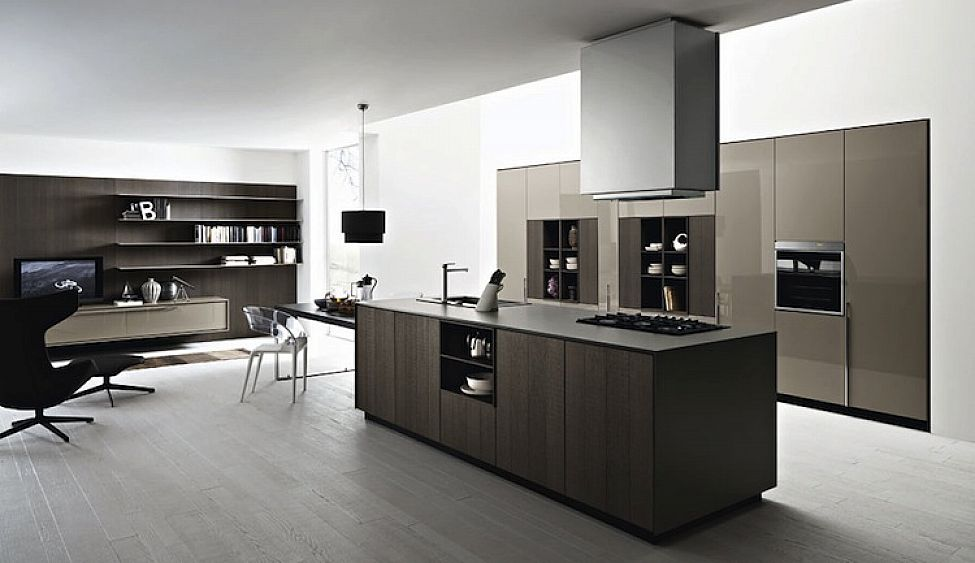 Modern Italian Kitchen Cabinets Simple Design