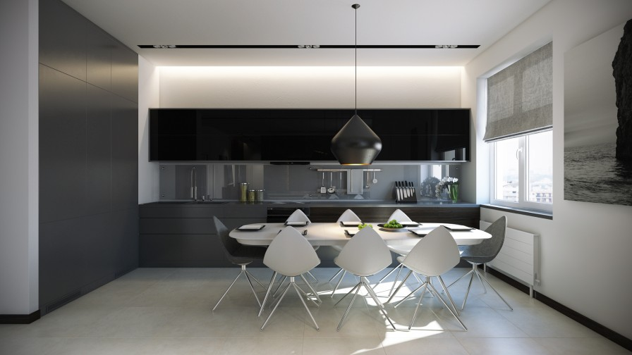 Modern Kitchen Dine