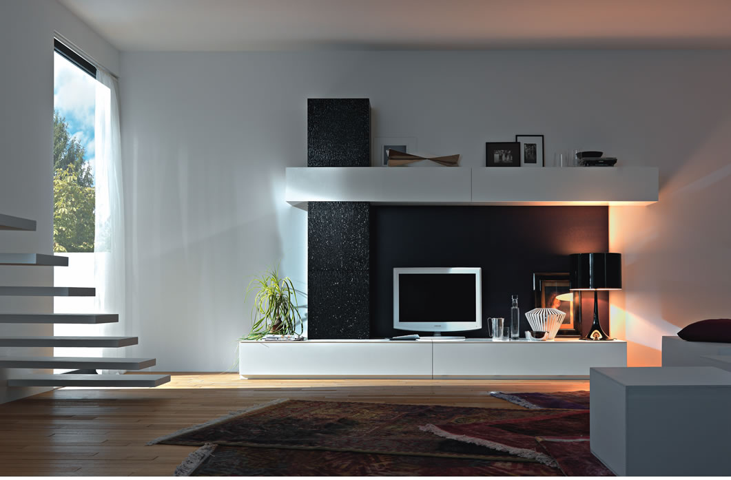 Captivating Modern LCD Cabinet Design