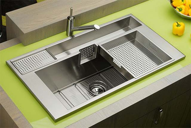 Modern Steel Kitchen Sink Design