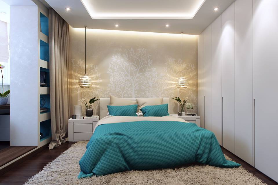 Modern Unique Bedroom