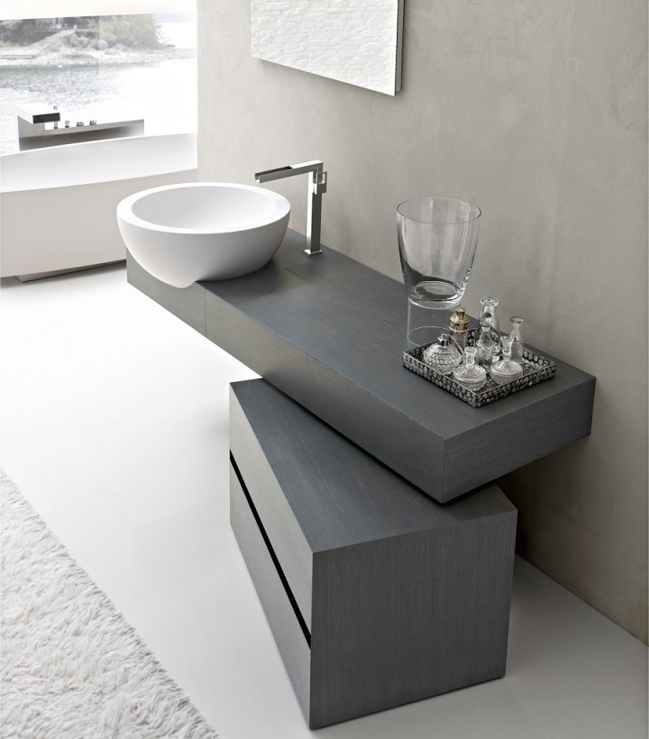 Modern Vanity Unit Design I.... Contemporary Bathroom Design