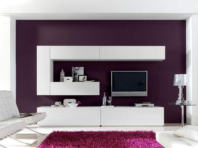 Modern lcd wall unit desiign furniture designs al Interior design ideas for led tv