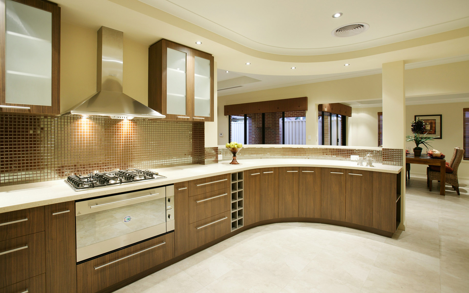 Modern kitchen design ideas kitchen designs al habib for Contemporary kitchen style
