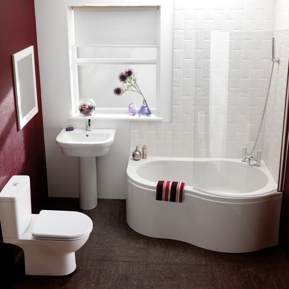 Retro Small Bathroom Decoration With Comfortable Ideas