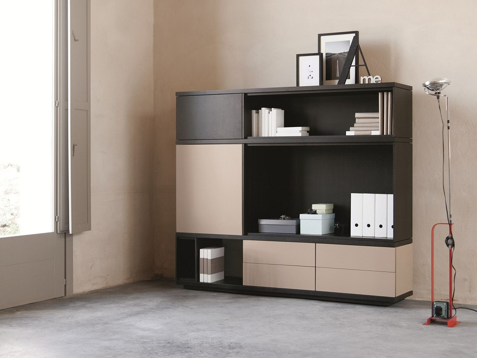 Sectional Storage Unit Design