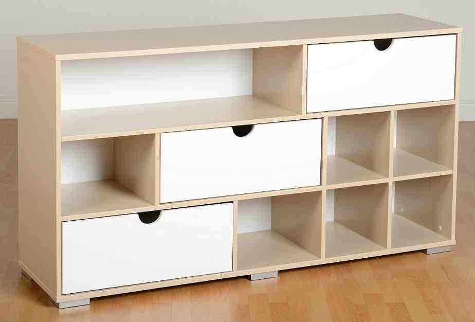 Sideboard White Gloss Maple